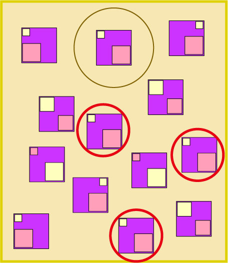 同じ絵探しで脳トレーニング : 算数 パズル プリント : パズル